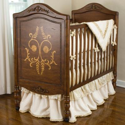baby wiege krippen in holz junge m dchen bettw sche. Black Bedroom Furniture Sets. Home Design Ideas