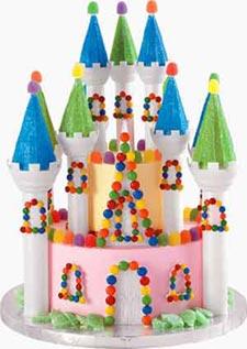 Candyland Castle Cake