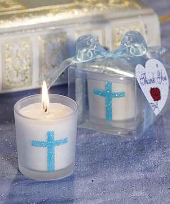 40 Holy Harvest Cross Ornament Christening Baptism Shower Religious Party Favors